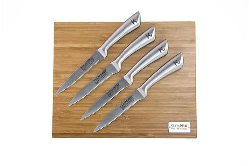 The worlds best steak Knives - Kleva Cut Master Series 4pc Steak Knife Set