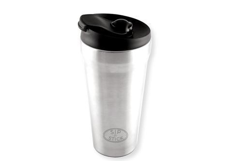 NO MORE SPILT DRINKS! Kleva Sip N' Stick Thermal Travel Mug