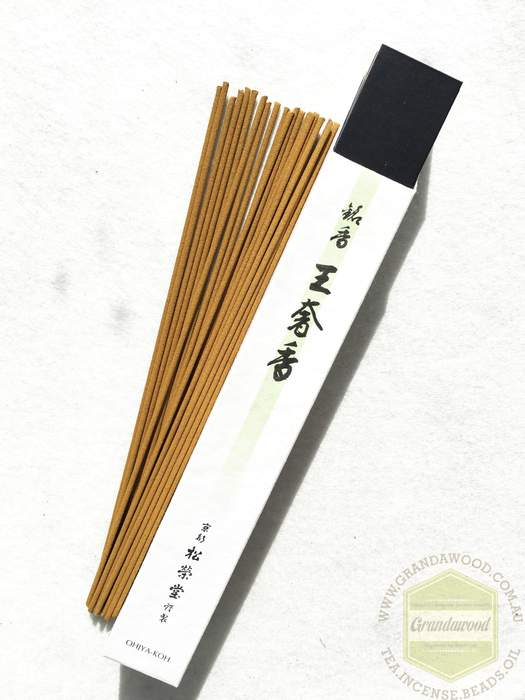 Shoyeido Premium Incenses: King's Aroma Ohjya-koh