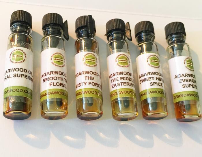 Agarwood (Oud) Oil Sample Kit