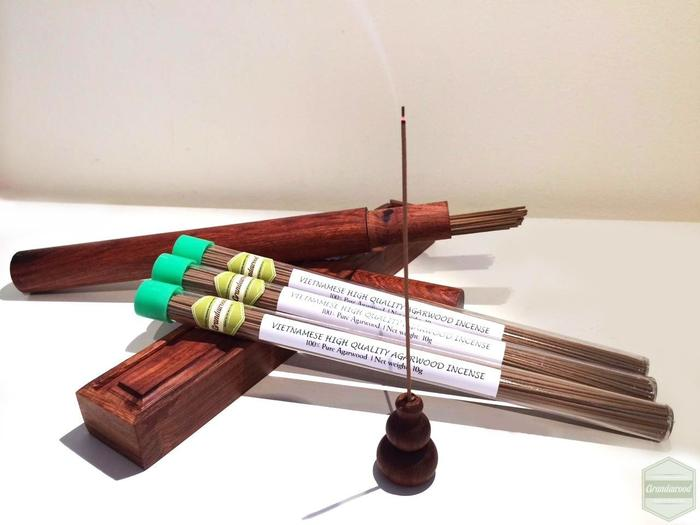 Grandawood Agarwood Incense- High Quality- 10g 沉香香
