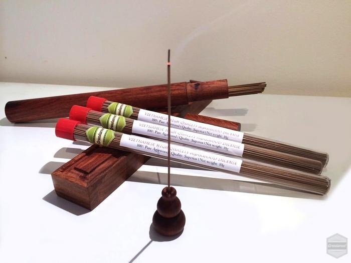 Grandawood Agarwood Incense- Superior Quality- 10g 沉香香