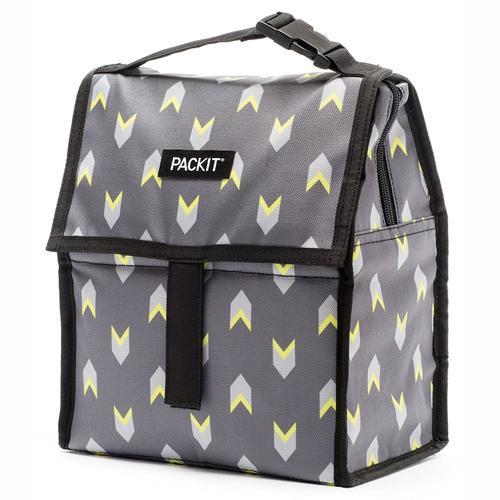 PACKIT® | Freezable Lunch Bag 4.5L - Neon Arrows