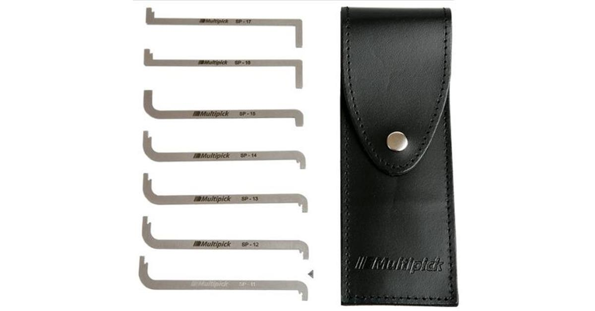 Multipick ELITE Top of Keyway 7 Piece Wrench Set 2 + Case