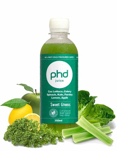 Sweet Greens 350ml -  $7.50
