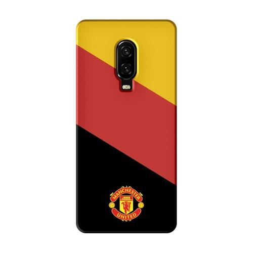 32b14eb8a Mangomask Oneplus 6T Mobile Phone Case Back Cover Custom Printed Designer  Series Manchester United Logo 02