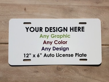 Customized License Plate Frame 12/×6 inch American and Canadian Standard License Plate is Applicable Faux Abalone