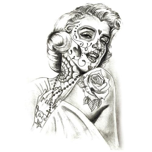 Santa Muerte Marilyn