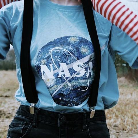"""NASA: STARRY NIGHT"" SHIRTS"