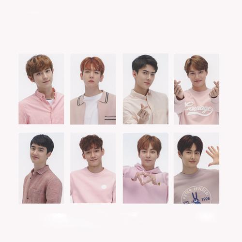 """""""EXO IN PINK"""" PHOTO CARDS"""