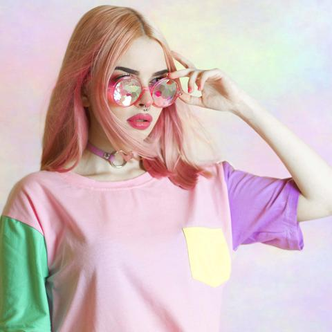 """""""PASTEL PATCHES"""" T-SHIRTS"""