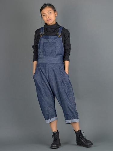 Salopette avec poches - Style jean