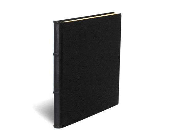 Black Leather Handmade Journal - Refillable (3 Sizes)
