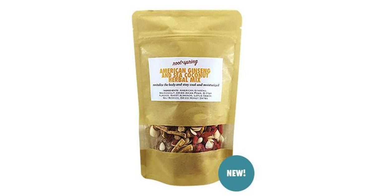 American Ginseng & Sea Coconut Chinese Herbal Soup Mix
