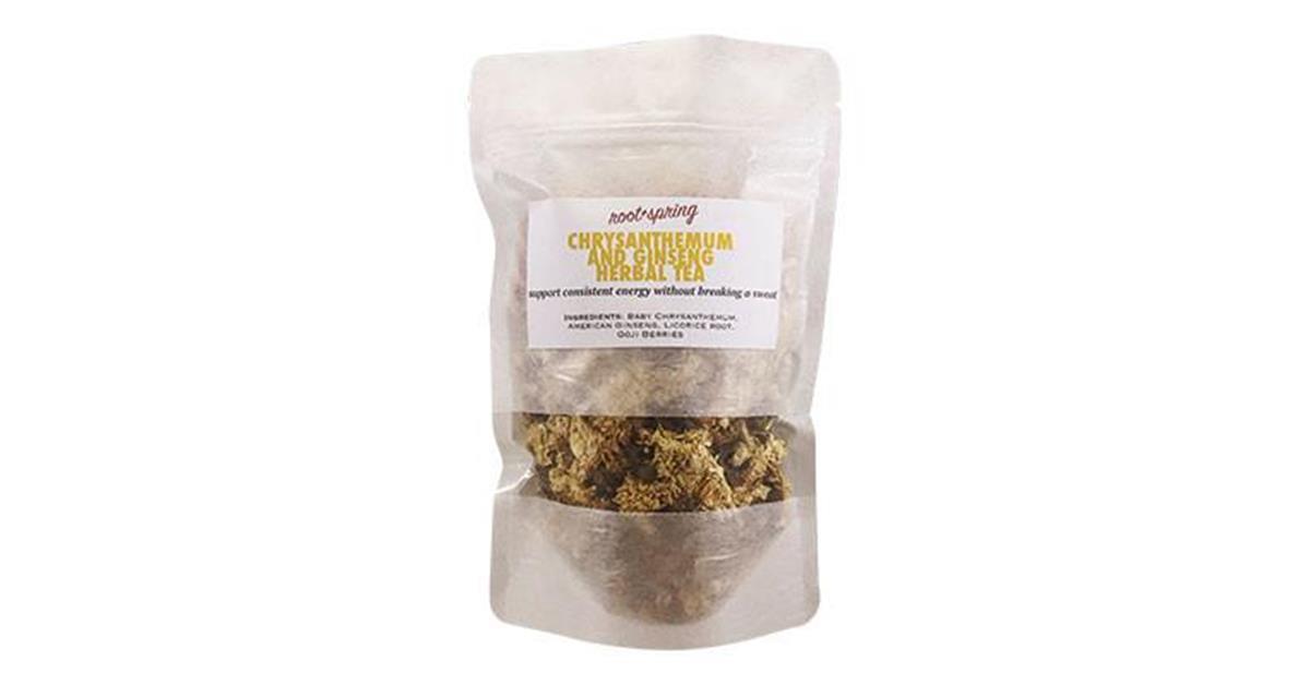 "Baby Chrysanthemum & Ginseng ""Energy Booster"" Herbal Tea"