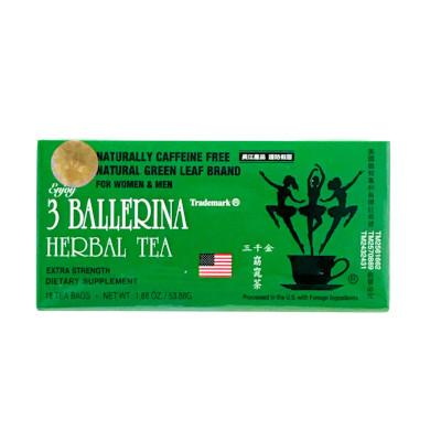 3 Ballerina Herbal Tea, Extra Strength
