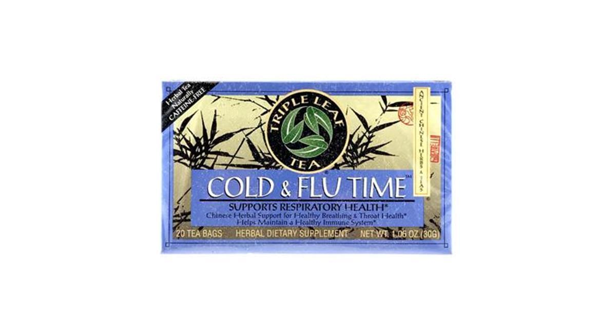 Cold & Flu Time Chinese Herbal Tea