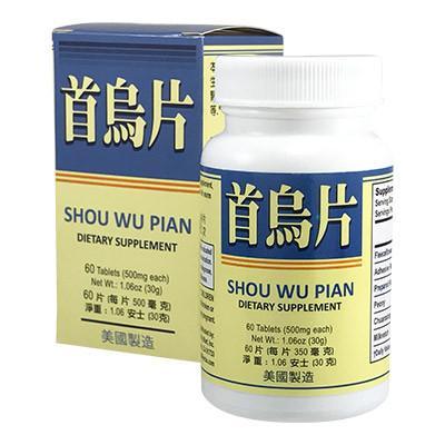 He Shou Wu Pian Fo-Ti Extract Pills