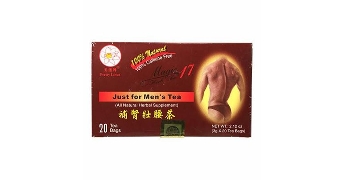 Magic 17 Just For Men's Herbal Tonic Tea