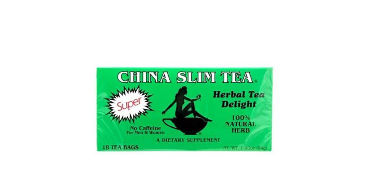 China Slim Herbal Tea, 100% Natural