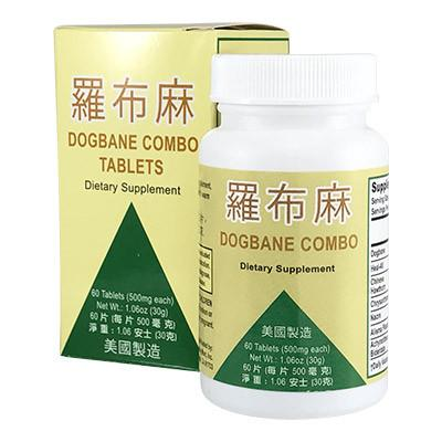 Luo Bu Ma Jiang Ya Pian Tea Pills (Dogbane Extract Combo)