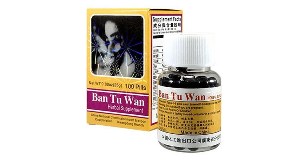 Ban Tu Wan Hair Growth Formula