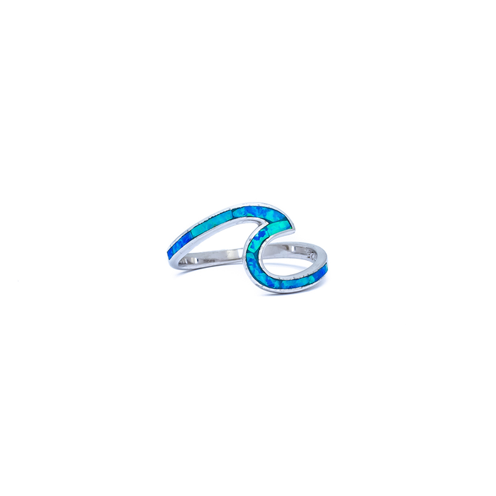 Paradise Blue Wave Ring