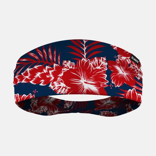 276eec6411b Floral Navy Red Wide Headband