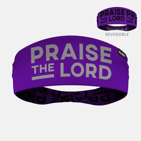 c0288a793b5 Praise the Lord Purple Double Sided Headband