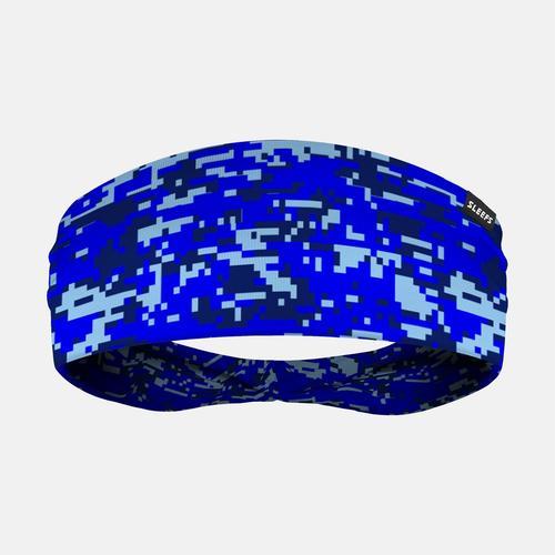 d092568e8 Digital Camo Blue Navy Headband