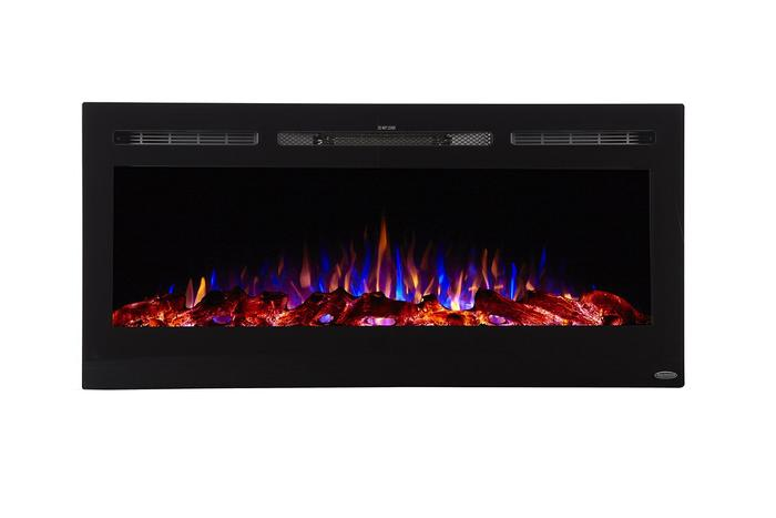 """Sideline 45 80025 45"""" Recessed Electric Fireplace"""