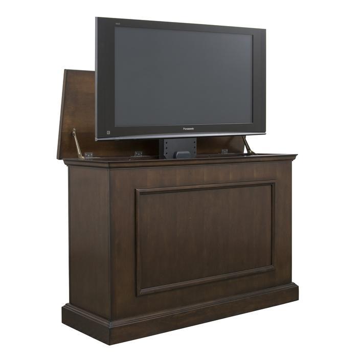 "Mini Elevate 75008 Espresso TV Lift Cabinet for 46"" Flat screen TVs"