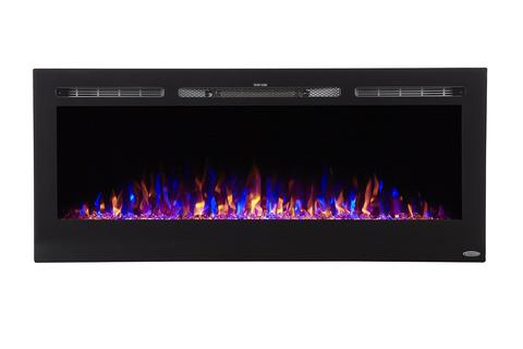 """Sideline 50 80004 50"""" Recessed Electric Fireplace"""