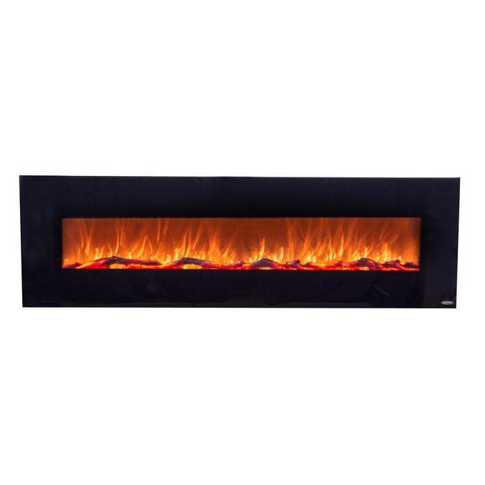 "OnyxXL 80005 72"" Wall Mounted Electric Fireplace"