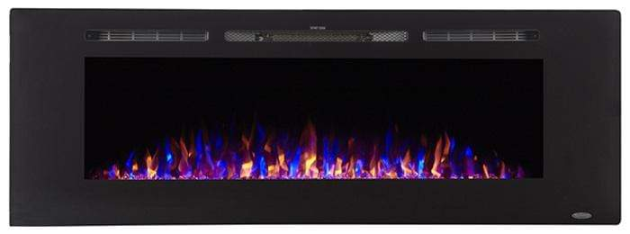 """Sideline 60 80011 60"""" Recessed Electric Fireplace"""