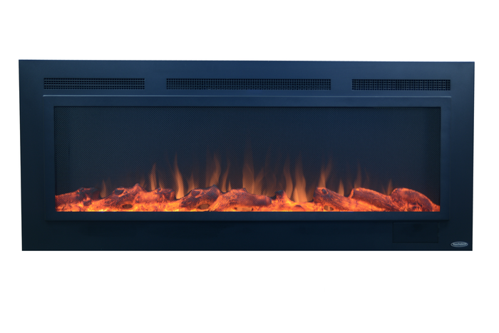 """Sideline Steel 80013 50"""" Recessed Electric Fireplace"""