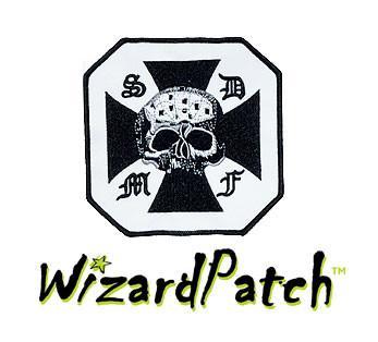 Black Label Society S.D.M.F. Octagonal Patch