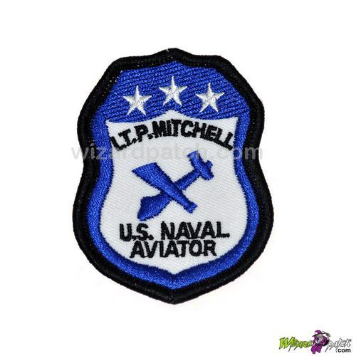 TOP GUN LT. P. Mitchell G1 Jacket Patch
