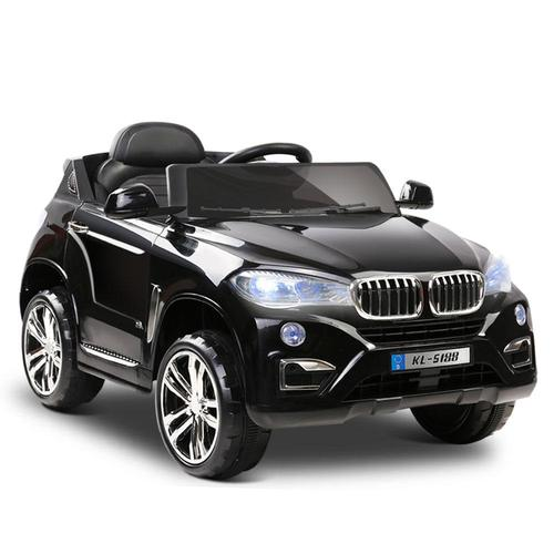 BMW X5 Inspired 12v Kids Ride On Car - Black