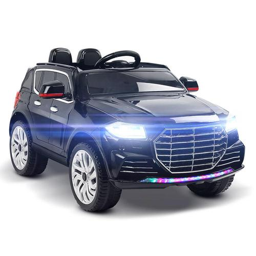 Audi Q7 Inspired Black 12v Ride-On Kids Car