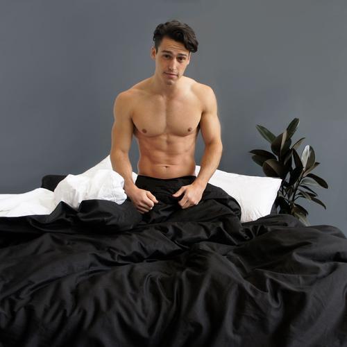 PRE ORDER - EDEN Quilt Cover - Black