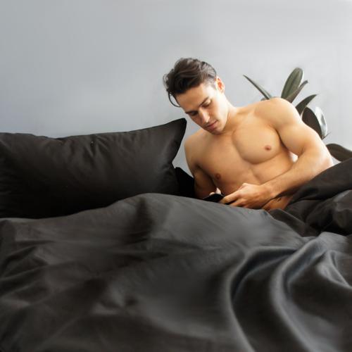 EDEN Pillowcase Pair - Black