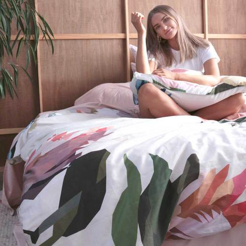 PROTEA Floral Printed Quilt Cover - Ltd. Edition