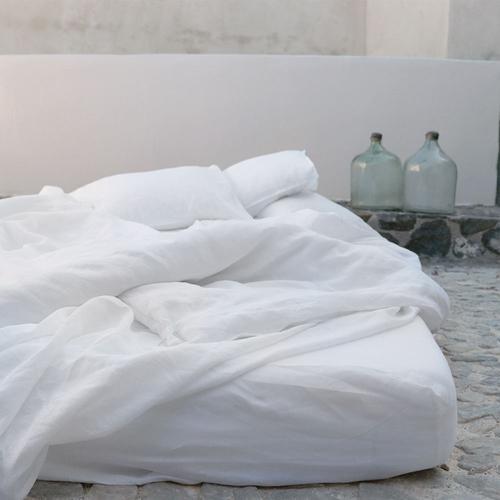 EVE Linen Sheets - White