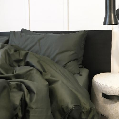 EDEN Quilt Cover - Hunter Green