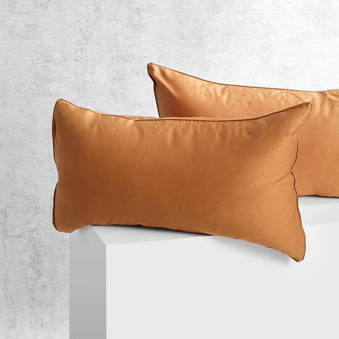 EDEN Pillowcase Pair - Terracotta