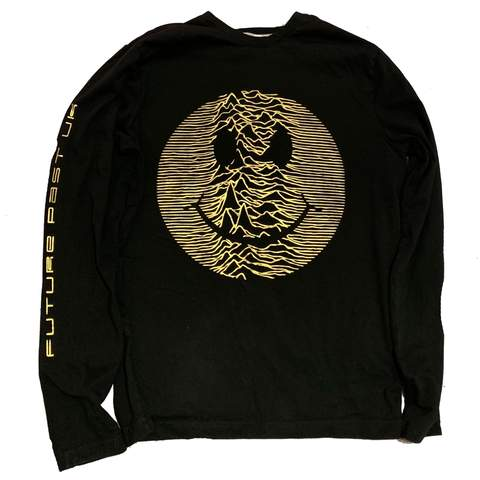 Limited Edition Gold Acid Pulsar Long Sleeve T-Shirt / Black