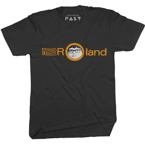 Roly Got Synthesised T-Shirt / Black