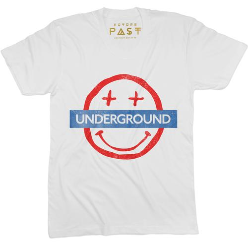 Smiley Underground T-Shirt / White