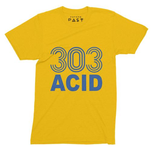 303 Acid State T-Shirt / Gold